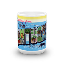 Greetings from Kentucky Unique Coffee Mug, Coffee Cup 4