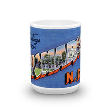 Greetings from Bismarck North Dakota Unique Coffee Mug, Coffee Cup 1