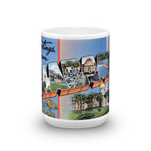 Greetings from Alabama Unique Coffee Mug, Coffee Cup 1