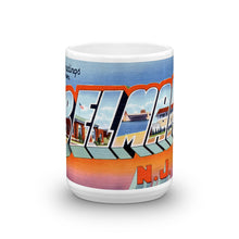Greetings from Belmar New Jersey Unique Coffee Mug, Coffee Cup 2