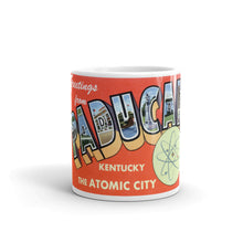 Greetings from Paducah Kentucky Unique Coffee Mug, Coffee Cup