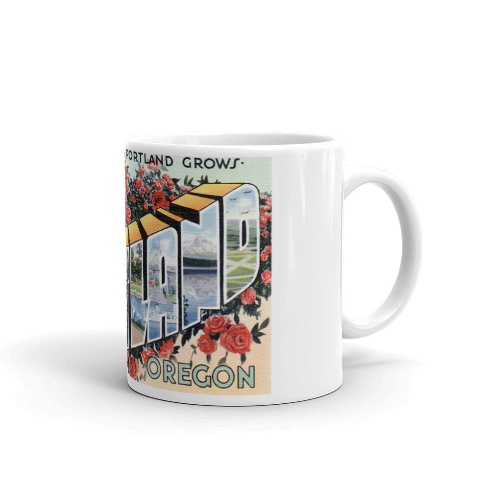 Greetings from Portland Oregon Unique Coffee Mug, Coffee Cup 2