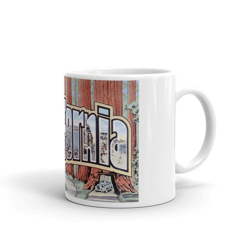 Greetings from California Unique Coffee Mug, Coffee Cup 3