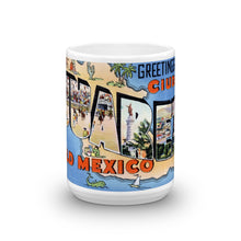 Greetings from Juarez Mexico Unique Coffee Mug, Coffee Cup 2