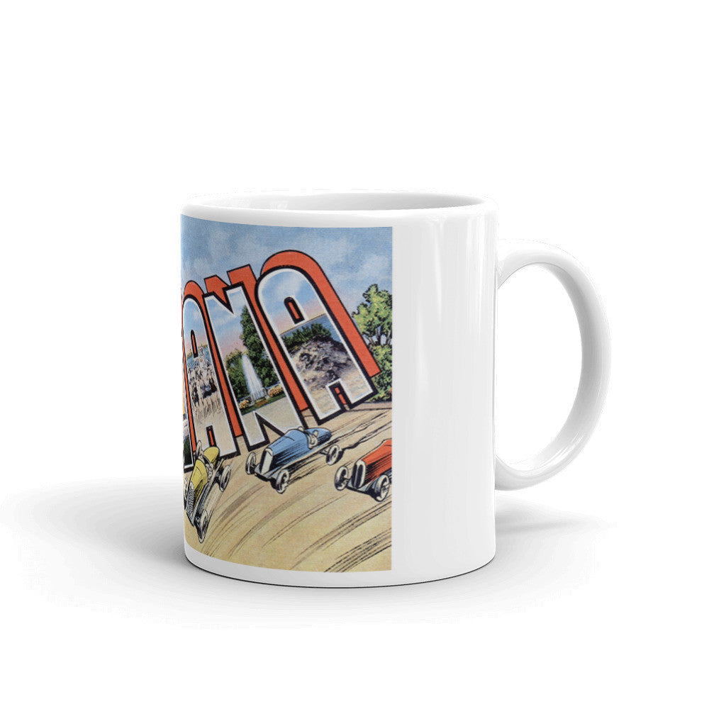 Greetings from Indiana Unique Coffee Mug, Coffee Cup 2