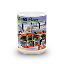 Greetings from Panama City Florida Unique Coffee Mug, Coffee Cup