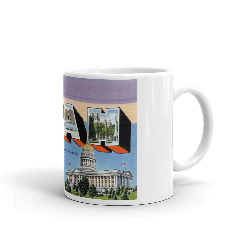 Greetings from Utah Unique Coffee Mug, Coffee Cup