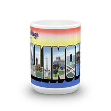 Greetings from Illinois Unique Coffee Mug, Coffee Cup 2