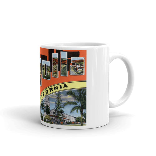 Greetings from La Jolla California Unique Coffee Mug, Coffee Cup 1