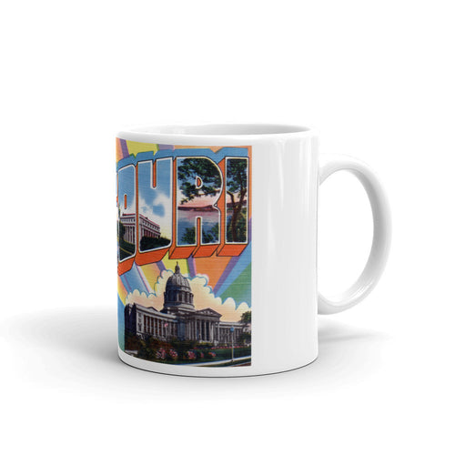 Greetings from Missouri Unique Coffee Mug, Coffee Cup 6