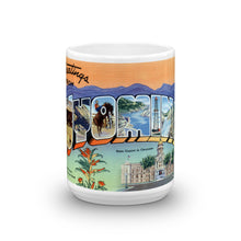 Greetings from Wyoming Unique Coffee Mug, Coffee Cup 1