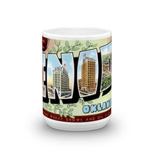 Greetings from Enid Oklahoma Unique Coffee Mug, Coffee Cup