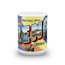 Greetings from Reno Nevada Unique Coffee Mug, Coffee Cup