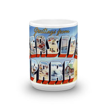 Greetings from Seaside Park New Jersey Unique Coffee Mug, Coffee Cup