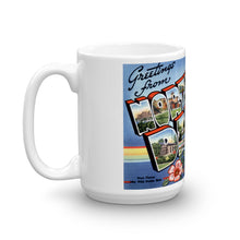 Greetings from North Dakota Unique Coffee Mug, Coffee Cup 1