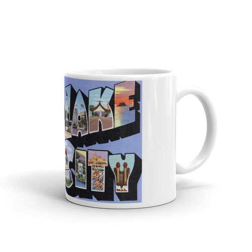 Greetings from Salt Lake City Utah Unique Coffee Mug, Coffee Cup 2