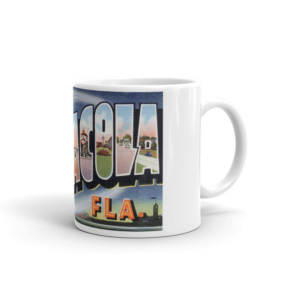 Greetings from Pensacola Florida Unique Coffee Mug, Coffee Cup 2