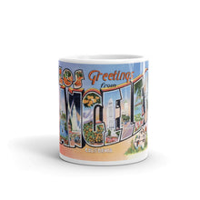 Greetings from Los Angeles California Unique Coffee Mug, Coffee Cup 2