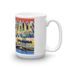 Greetings from Jacksonville Florida Unique Coffee Mug, Coffee Cup 2