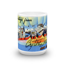 Greetings from Wildwood By The Sea New Jersey Unique Coffee Mug, Coffee Cup 2