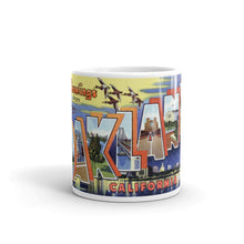 Greetings from Oakland California Unique Coffee Mug, Coffee Cup 2