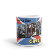 Greetings from Montreal Canada Unique Coffee Mug, Coffee Cup 2