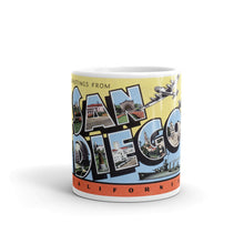 Greetings from San Diego California Unique Coffee Mug, Coffee Cup 4