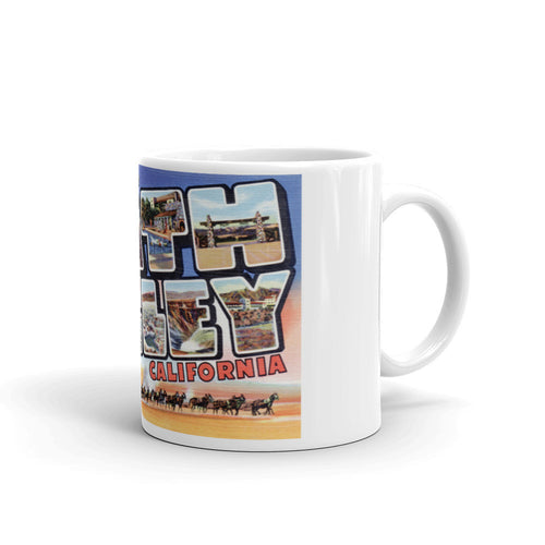 Greetings from Death Valley California Unique Coffee Mug, Coffee Cup