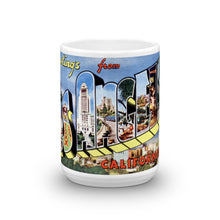 Greetings from Los Angeles California Unique Coffee Mug, Coffee Cup 3