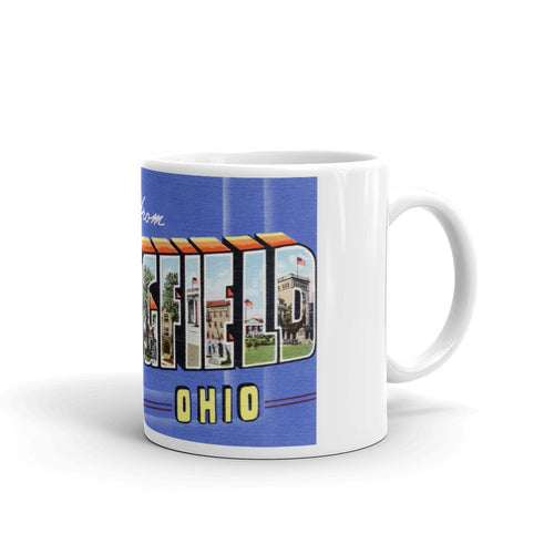 Greetings from Springfield Ohio Unique Coffee Mug, Coffee Cup