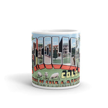 Greetings from Fort Collins Colorado Unique Coffee Mug, Coffee Cup