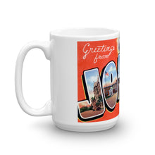 Greetings from Joliet Illinois Unique Coffee Mug, Coffee Cup