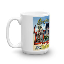 Greetings from Texas Unique Coffee Mug, Coffee Cup 8