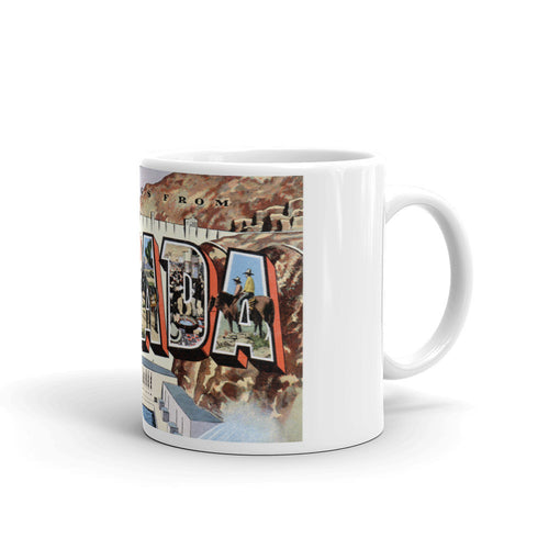 Greetings from Nevada Unique Coffee Mug, Coffee Cup 2