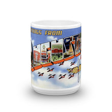 Greetings from Augusta Georgia Unique Coffee Mug, Coffee Cup 1