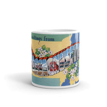 Greetings from Massachusetts Unique Coffee Mug, Coffee Cup 2