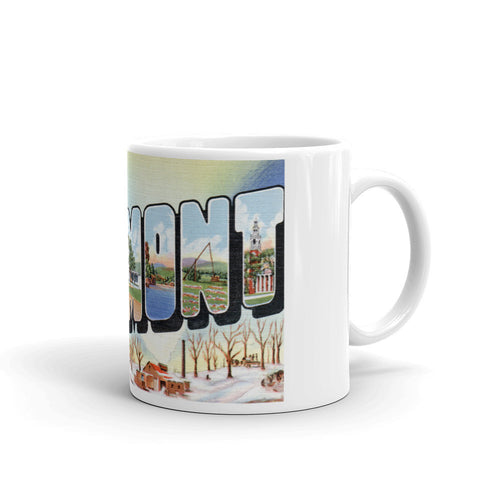 Greetings from Vermont Unique Coffee Mug, Coffee Cup 2