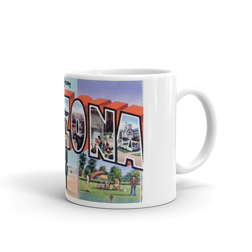 Greetings from Arizona Unique Coffee Mug, Coffee Cup 5