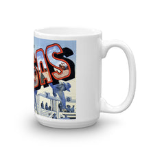 Greetings from Kansas Unique Coffee Mug, Coffee Cup 3