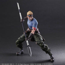 PLAY ARTS KAI: ADVENT CHILDREN FINAL FANTASY VII - CID HIGHWIND & CAT SITH
