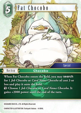 4-064L Fat Chocobo