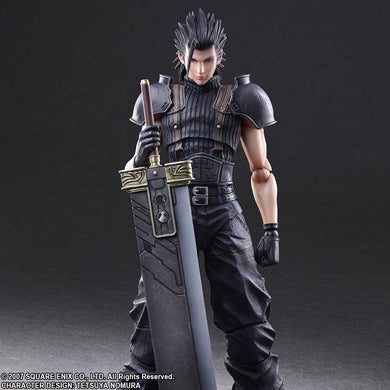 PLAY ARTS KAI: CRISIS CORE FINAL FANTASY VII - ZACK FAIR