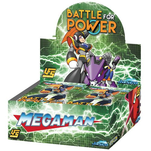 MEGA MAN: BATTLE FOR POWER - BOOSTER DISPLAY