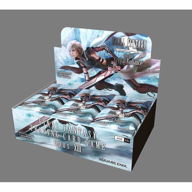 Pre-Order Final Fantasy Opus 13 - Booster Box