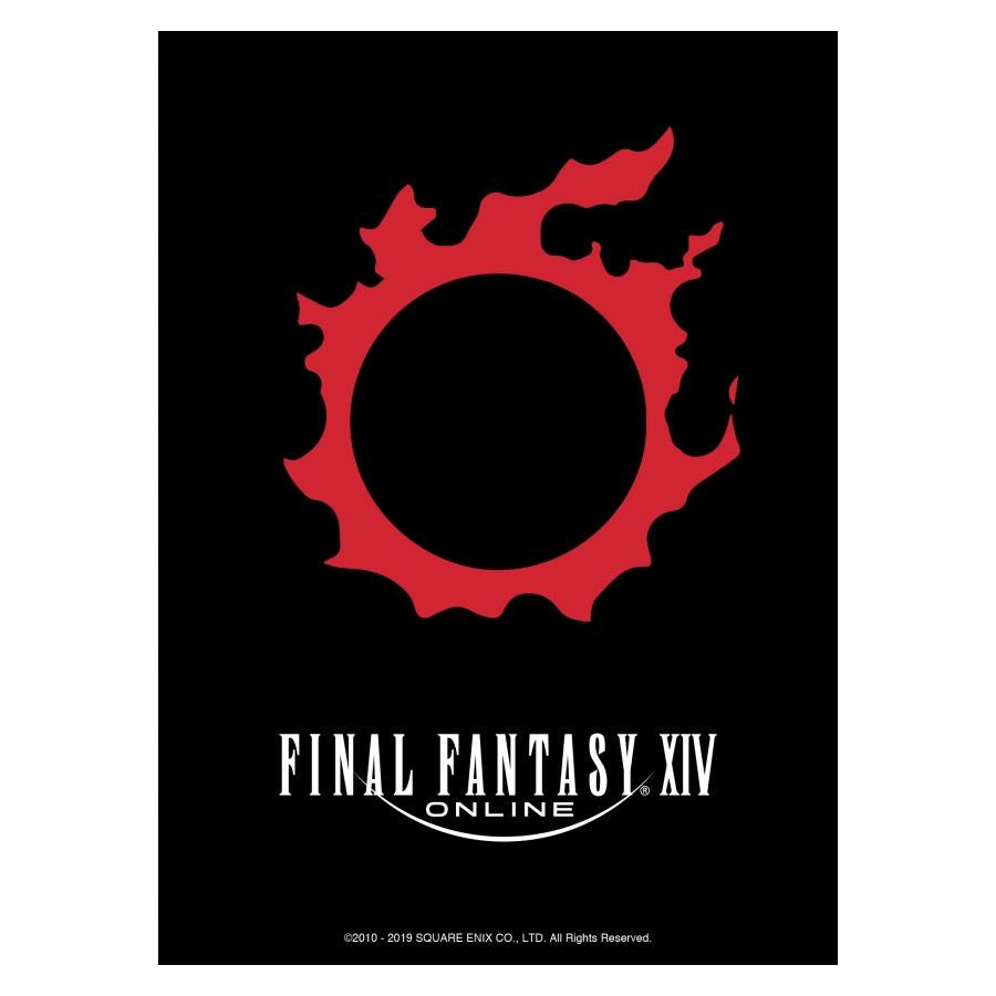 FINAL FANTASY TCG: DECK PROTECTOR CARDSLEEVES - FINAL FANTASY XIV METEOR