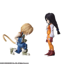 BRING ARTS: FINAL FANTASY IX - ZIDANE TRIBAL AND GARNET TIL ALEXANDROS 17TH - ACTION FIGURE SET