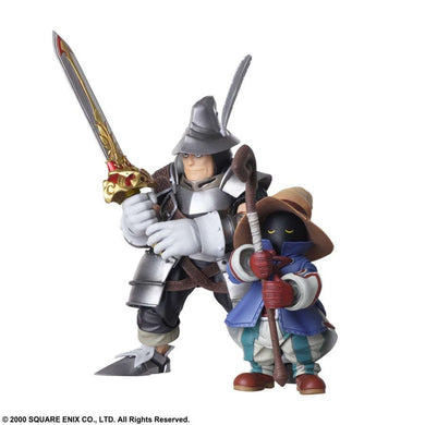 Pre-Order BRING ARTS: FINAL FANTASY IX - VIVI ORNITIER AND ADELBERT STEINER ACTION FIGURE SET