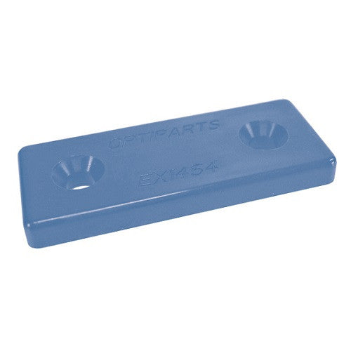Nylon Mounting Plate, Blue
