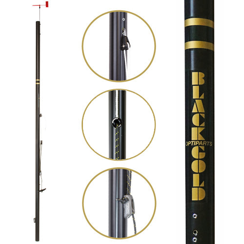 BLACKLITE mast. With rigging pack (EX902)