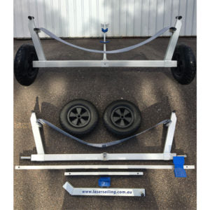 Alloy Laser Beach Dolly  Pull Apart